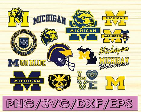 Michigan Wolverines, Michigan Wolverines svg, NCAA TEAM