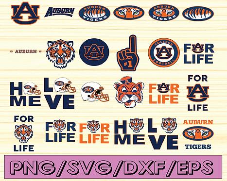 Auburn Tigers Football svg,sport svg, football svg, NCAA