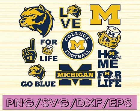 Michigan Wolverines, Michigan Wolverines svg,NCAA