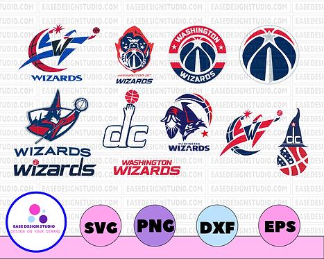 Washington Wizards, Washington Wizards svg, Washington Wizards clipart, NBA