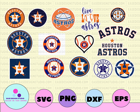 11 HOUSTON ASTROS svg bundle - houston astros clipart MLB