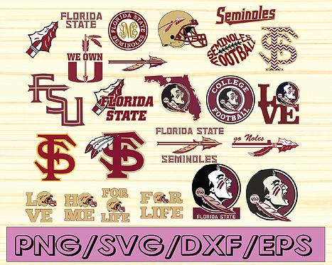 Florida State Seminoles, Florida State Seminoles svg, NCAA TEAM