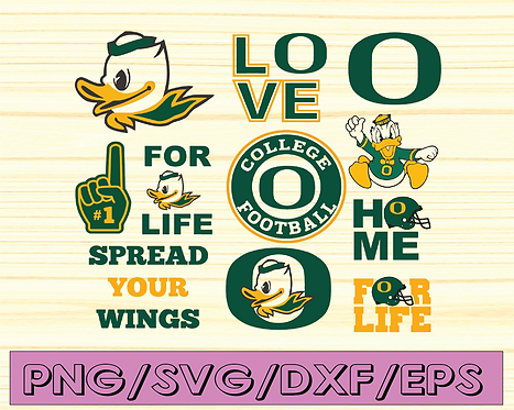 Spread Your Wings Football svg, football svg, silhouette svg, NCAA