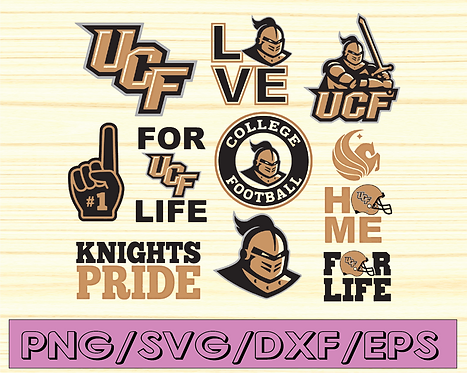 UCF Knights football svg,sport svg, football svg, silhouette svg,NCAA