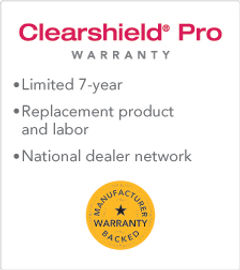 Clearshield Pro Warranty Paint protection