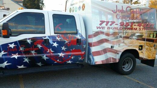 Josh Cantler Construction Truck