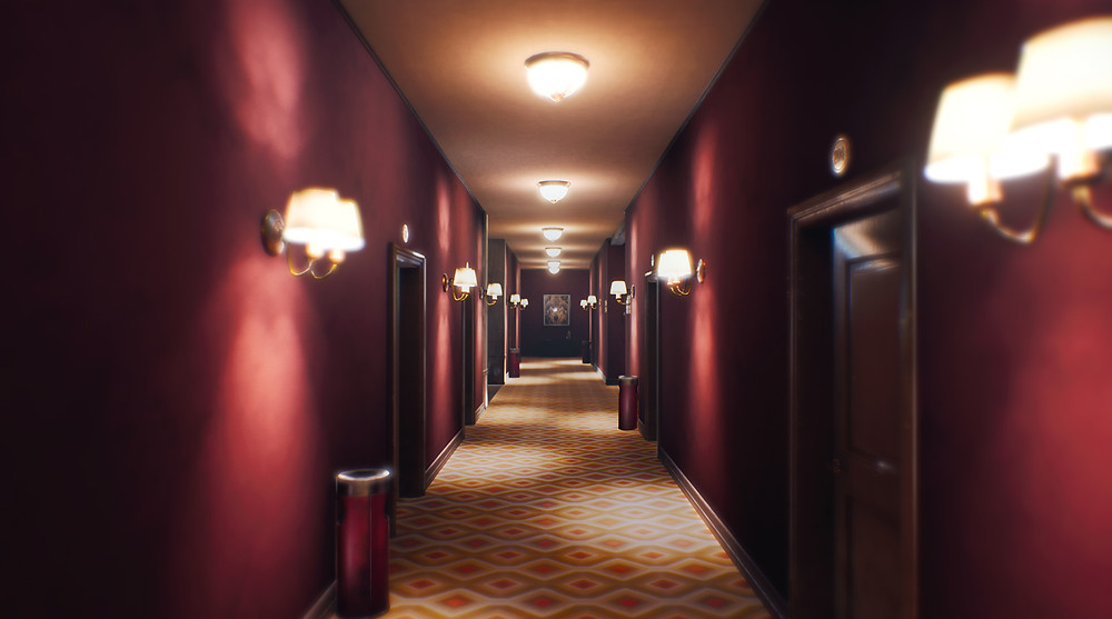 You get the chills by just looking at the hallways