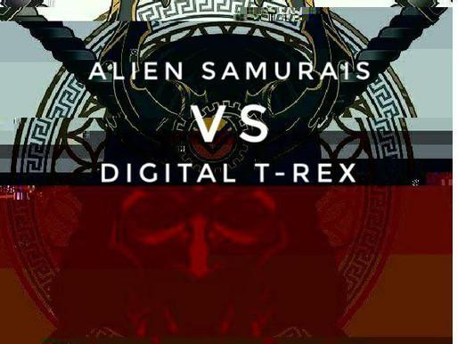 Alien Samurais Vs. Digital T-Rex (Serum Presets by Hamidreza Nikoofar)