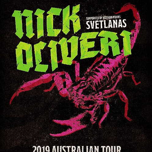 Nick Oliveri & Svetlanas - 2019 Australian Tour Single