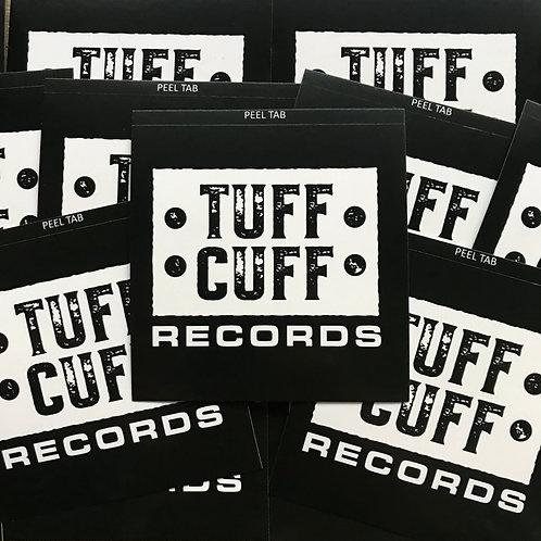 Tuff Cuff Records Official Sticker