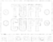 Tuff Cuff Records Logo - White
