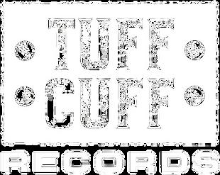 Tuff Cuff Records Logo - White