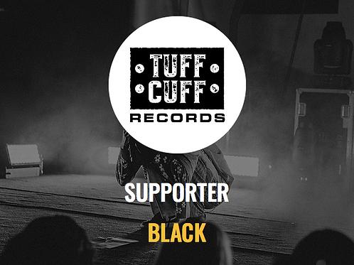 Tuff Cuff Records Supporter - BLACK