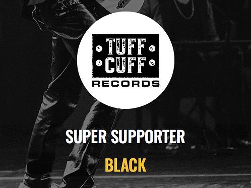 Tuff Cuff Records Super Supporter - BLACK