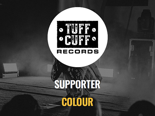 Tuff Cuff Records Supporter - COLOUR