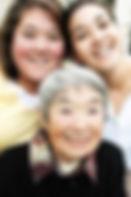 image Asian grandmother granddaughters.j