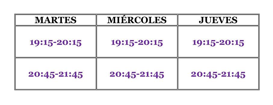 AYM - HORARIO Y PRECIOS M, X, J.jpg