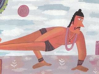 Yoga inclusivo y yoga adaptado (1). La postura de Ashtavakrasana y el sabio Ashtavakra.