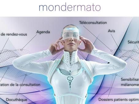 Mondermato par E-Health Care, solution innovante de télédermatologie présentée aux JDP18