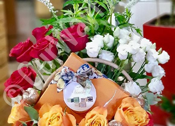 Bouquet + Venchi chocolate