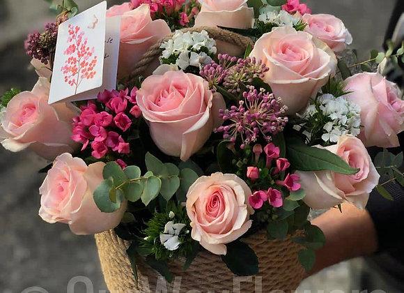 Sweet flowers box