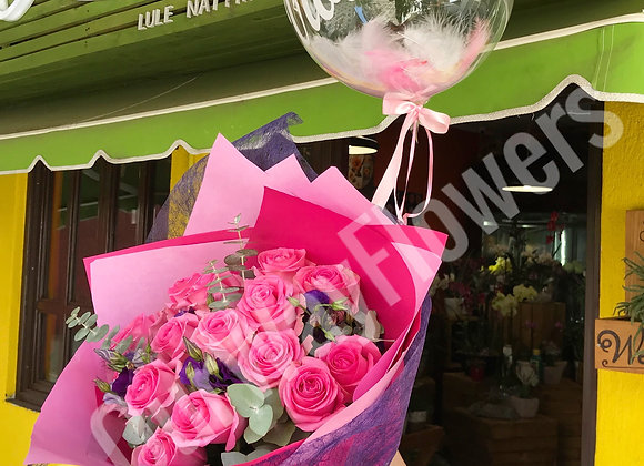 Bouquet and Baloon