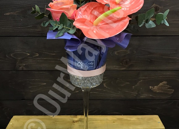 Anthurium Glass