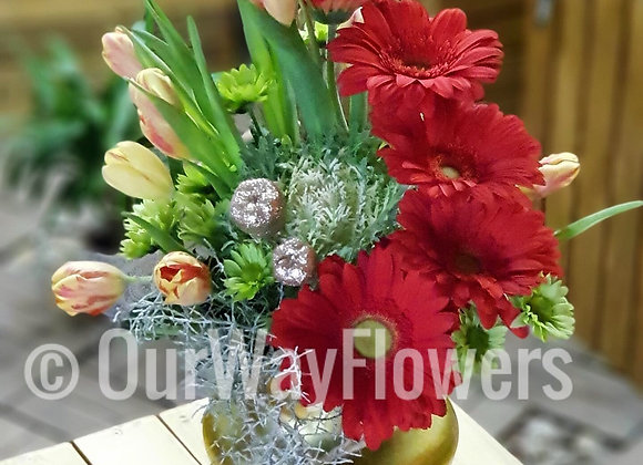 Gerbera for Tulips