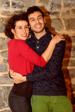 Sylvie Dumazian et Antonio Carmona