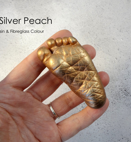 Silver Peach Baby Casting by Angelcasts