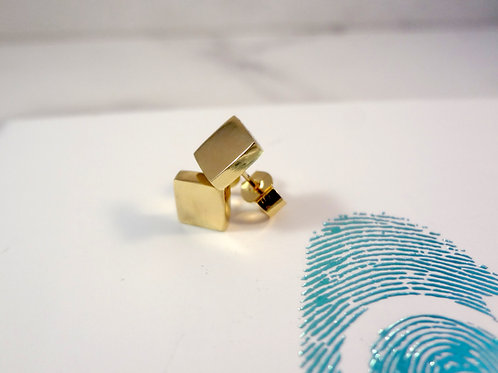 Chunky 9ct Gold Stud Earrings