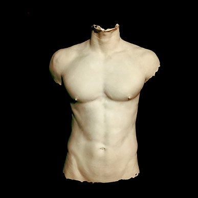 Male Torso for GQ Magazine by Angelcasts Body casting male models for fashion, TV & private commissions. Manchester, Northwest & London Body Casting.