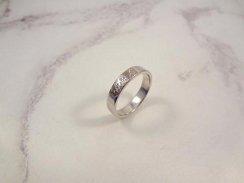 Fingerprint Ring for Men