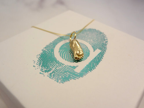 Miniature Baby Casting Jewellery in Gold & Silver