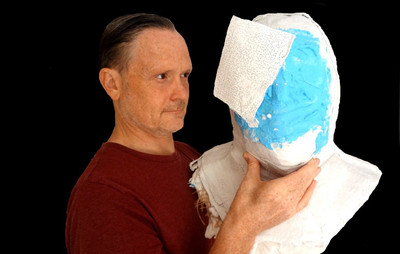 Life casting an actor for a theatre prop manchester