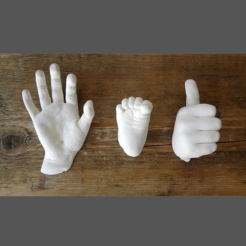 Baby & Kids Hand & Foot Casting Mould Kit