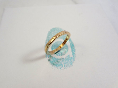 Personalised Rose Gold Ring