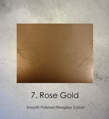 Rose Gold Pregnancy Casting Colour by Angelcasts