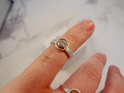 Paw Pad Gold Eternity Pet Ring