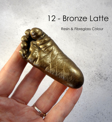 Bronze Latte Baby Casting by Angelcasts