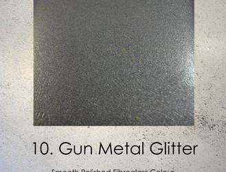 Gun Metal Glitter Fibreglass Body Casting Colour