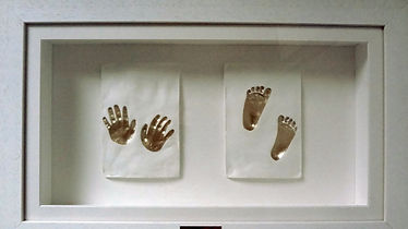 Repaired hospital baby imprints by Angelcasts