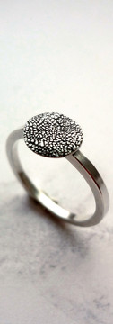 Paw print ring by Angelcasts