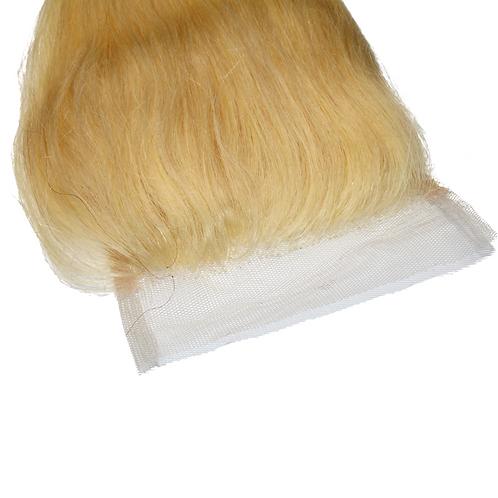 Blonde Closure Straight
