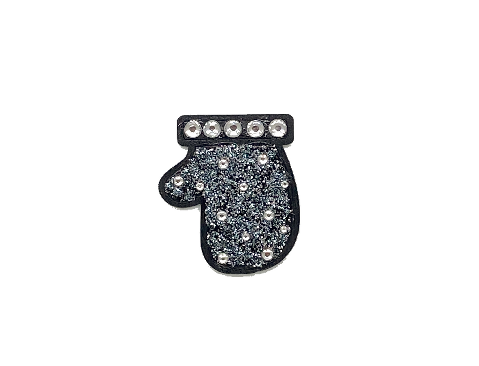 Helping Hand Crystal-Embellished Pin