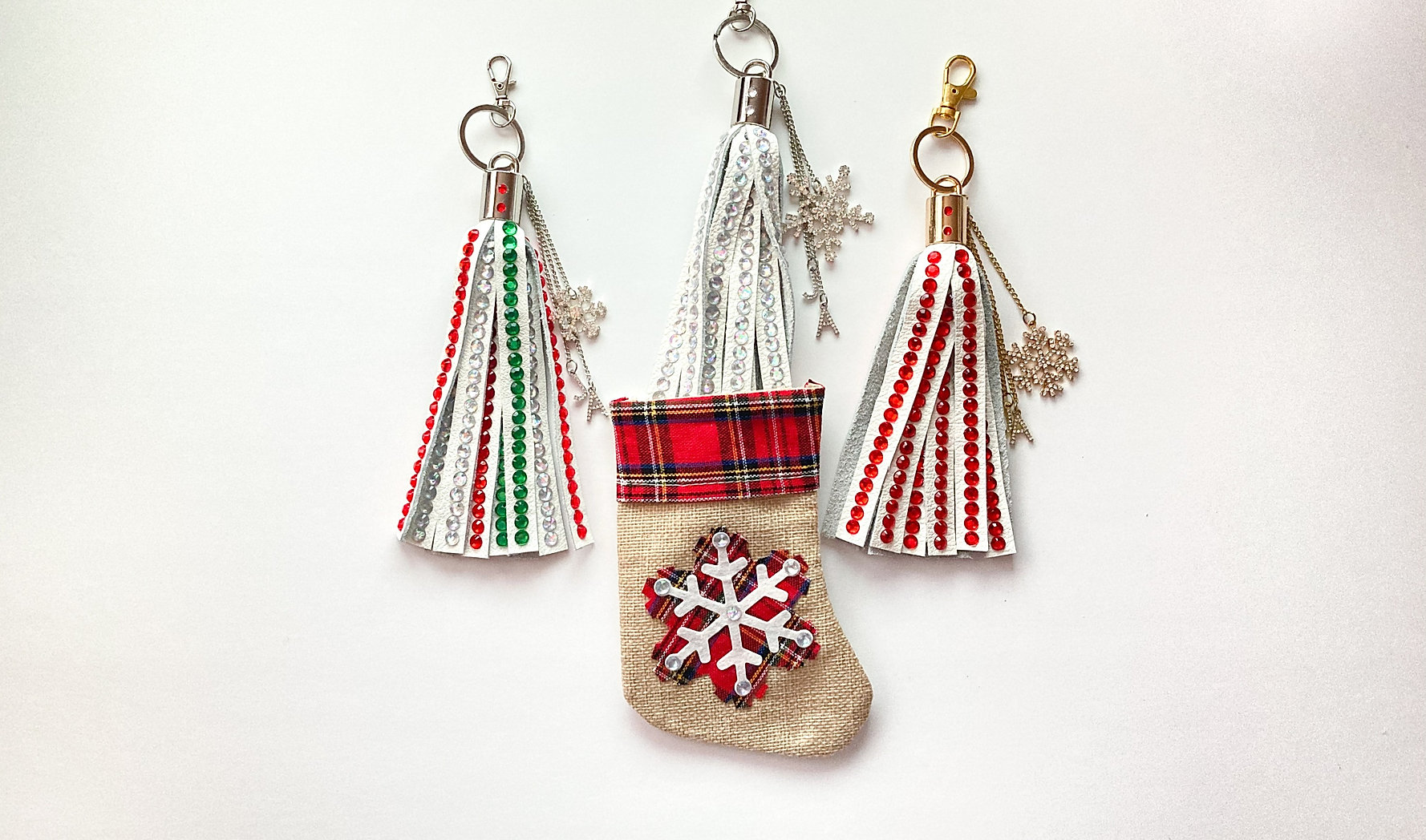 Jade Alycia Inc. Leather Keychains Stocking Stuffers