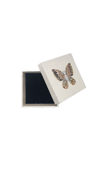 New Beginnings Crystal-Embellished Butterfly Jewelry Gift Box