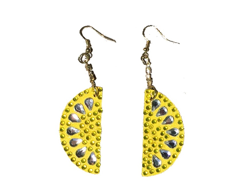 Main Squeeze Crystal-Embellished Statement Earrings