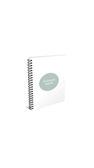 Business Ideas Spiral Notebook