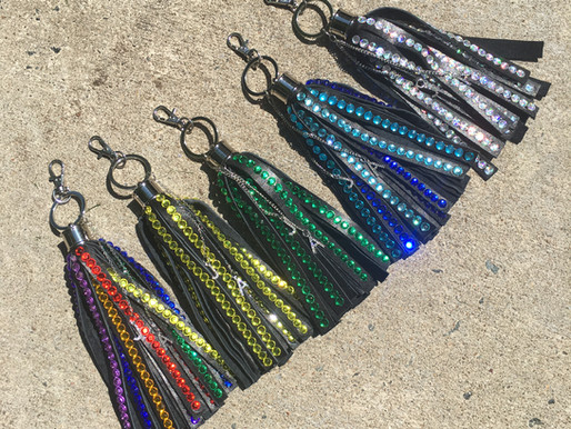 STATEMENT KEYCHAINS: Stand Up For A Movement You Believe In With Colorful Accessories